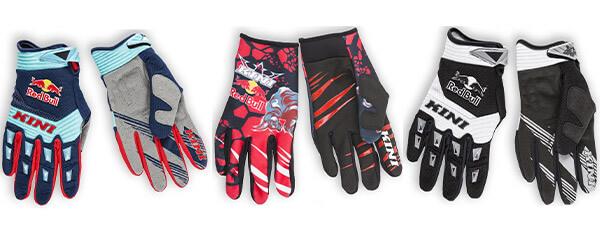 MX Handschuhe, Enduro Handschuhe, Motocross Handschuhe von Kini Red Bull