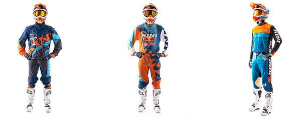 Motocross Bekleidung Sets von Kini Red Bull